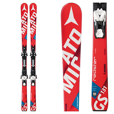Atomic Redster FIS GS Jr. S Junior Race Skis with XTL 7 Bindings, , viewer