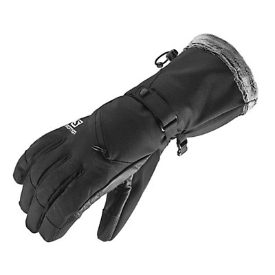 Salomon Tactile Womens Gloves, Black, viewer