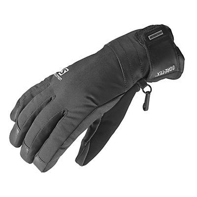 Salomon Peak GTX Womens Gloves, Black, viewer