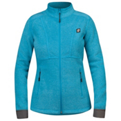 Orage Pursuit Fleece Womens Jacket, Turkish Blue, medium