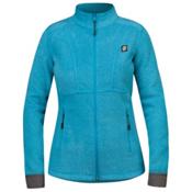 Orage Pursuit Fleece Womens Jacket, Turkish Blue, medium