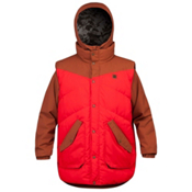 Orage B-Dog Mens Insulated Ski Jacket, Sequoia, medium