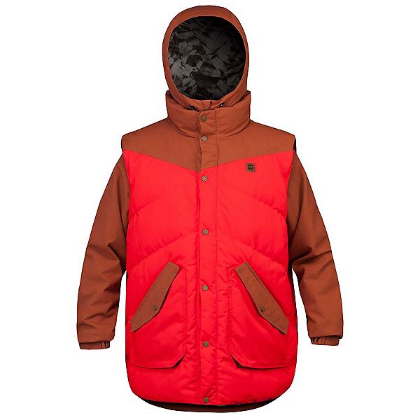 Orage B-Dog Mens Insulated Ski Jacket, Sequoia, 600