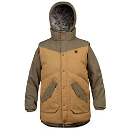 Orage B-Dog Mens Insulated Ski Jacket, Moss, 256