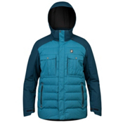 Orage Momentum Mens Insulated Ski Jacket, Steel Blue, medium