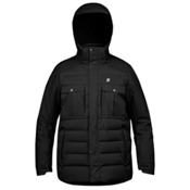 Orage Momentum Mens Insulated Ski Jacket, Black, medium