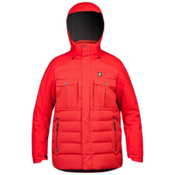 Orage Momentum Mens Insulated Ski Jacket, Fire Red, medium
