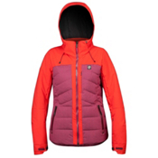Orage Jasmine Womens Insulated Ski Jacket, Plumrose, medium