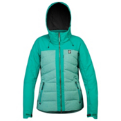 Orage Jasmine Womens Insulated Ski Jacket, Dark Jade, medium