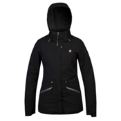 Orage Spansion Womens Insulated Ski Jacket, Black, medium