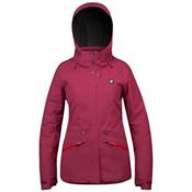 Orage Spansion Womens Insulated Ski Jacket, Plumrose, medium