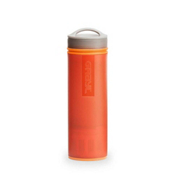 Grayl Ultralight Purifier [+Filter] Water Bottle 2017, Orange, medium