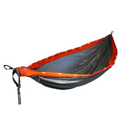 ENO DoubleNest LED Hammock, Orange-Grey, 256