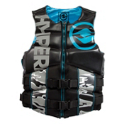 Hyperlite Special Agent Adult Life Vest 2017, Black-Blue, medium
