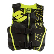 Hyperlite Youth Indy Neo Junior Life Vest 2017, Black-Volt, medium