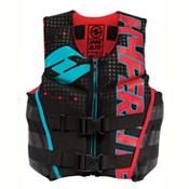 Hyperlite Youth Indy Neo Junior Life Vest 2017, Black-Volt, medium