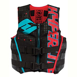 Hyperlite Youth Indy Neo Junior Life Vest 2017, Black-Red-Flash, 256