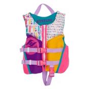 Hyperlite Child Indy Neo Toddler Life Vest 2017, Pink-Blue-Purple, medium