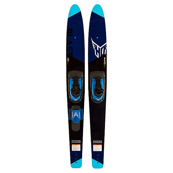 HO Sports Blast Combo Water Skis With Horse-Shoe Bindings 2017, , 600