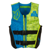 HO Sports Youth Pursuit Neo Boys Junior Life Vest 2017, Black-Green-Blue, medium