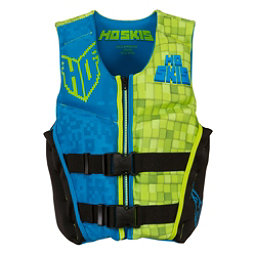 HO Sports Youth Pursuit Neo Boys Junior Life Vest 2017, Black-Green-Blue, 256