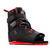 Hyperlite Focus Wakeboard Bindings 2017, Black-Red, medium