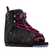 Hyperlite Jinx Womens Wakeboard Bindings 2017, Black-Purple, medium
