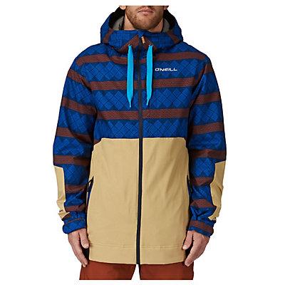 O'Neill David Wise Mens Insulated Snowboard Jacket, Blue Aop, viewer