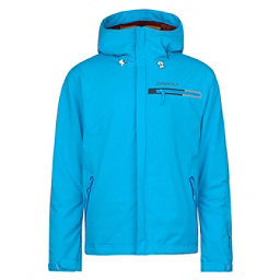 O'Neill Compass Mens Insulated Snowboard Jacket, Cyan Blue, 256