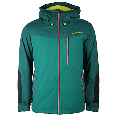 O'Neill Cue Mens Insulated Snowboard Jacket, Pacific, viewer