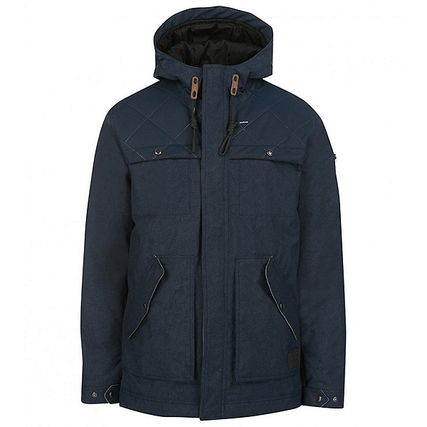 O'Neill Utility Mens Insulated Snowboard Jacket, Ink Blue, 600