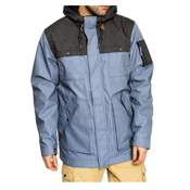O'Neill Utility Mens Insulated Snowboard Jacket, Blue, medium