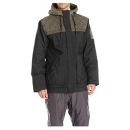 O'Neill Utility Mens Insulated Snowboard Jacket, Black-Grey, 256