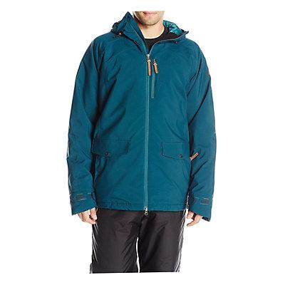 O'Neill Tempest Mens Insulated Snowboard Jacket, Night Ocean, viewer