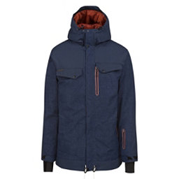 O'Neill Meteorite Mens Insulated Snowboard Jacket, Navy Night, 256