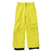 O'Neill Anvil Kids Snowboard Pants, Poison Yellow, medium