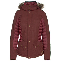 O'Neill Feline Womens Insulated Snowboard Jacket, Cabernet, 256