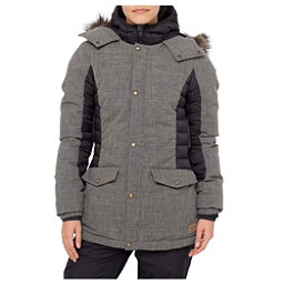 O'Neill Feline Womens Insulated Snowboard Jacket, Black Out, 256