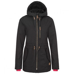 O'Neill Eyeline Womens Insulated Snowboard Jacket, Black Out, 256