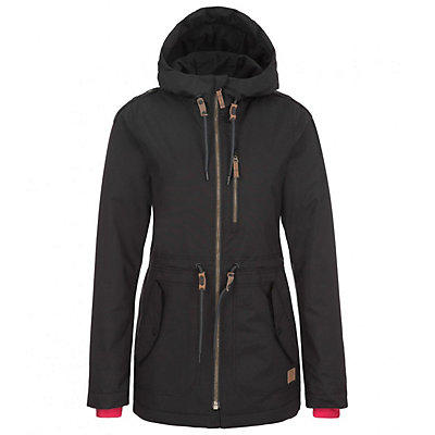 O'Neill Eyeline Womens Insulated Snowboard Jacket, Black Out, viewer