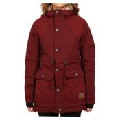 O'Neill Glaze Womens Insulated Snowboard Jacket, Cabernet, medium