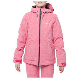 O'Neill Cosmic Girls Snowboard Jacket, Virtual Pink, 256