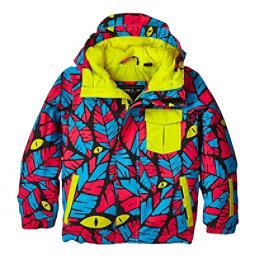O'Neill Prince Toddler Ski Jacket, Blue Aop-Blue, 256