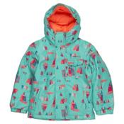 O'Neill Princess Toddler Girls Ski Jacket, Blue Aop-Purple, medium