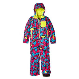 O'Neill Powder Full Toddlers One Piece Ski Suit, Blue Aop-Blue, 256