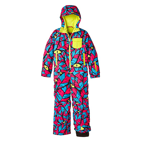 O'Neill Powder Full Toddlers One Piece Ski Suit, Blue Aop-Blue, 600