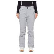 O'Neill Glamour Womens Snowboard Pants, Silver Melee, medium