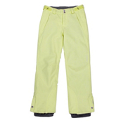 O'Neill Carat Girls Snowboard Pants, Sunny Lime, medium