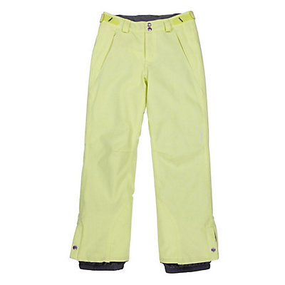 O'Neill Carat Girls Snowboard Pants, Sunny Lime, viewer