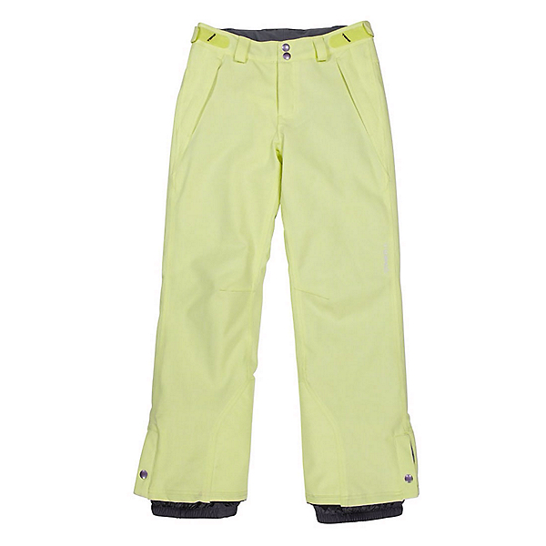 O'Neill Carat Girls Snowboard Pants, Sunny Lime, 600